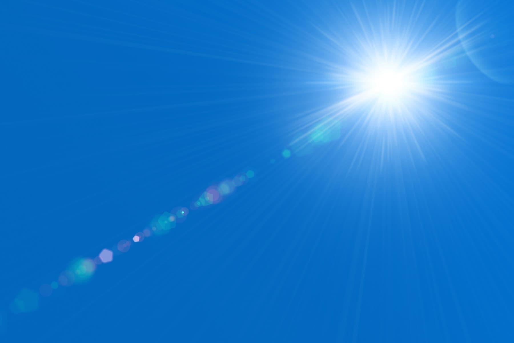 sun in sky
